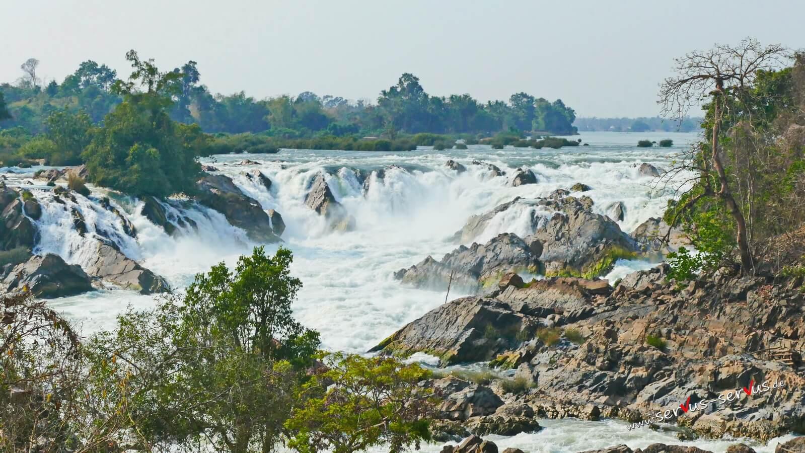 Khone Phapheng Wasserfall, Laos, Don Khone, 4000 Inseln, Mekong