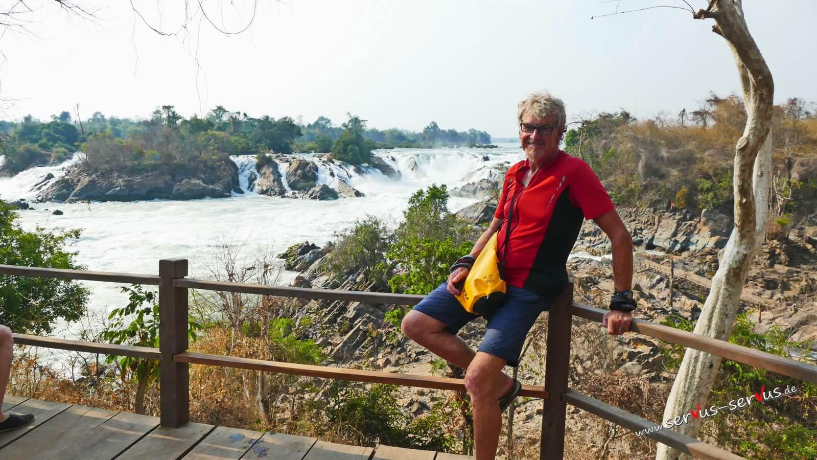 Don Khone, 4000 Inseln, Laos, Khone Phanpheng Wasserfall