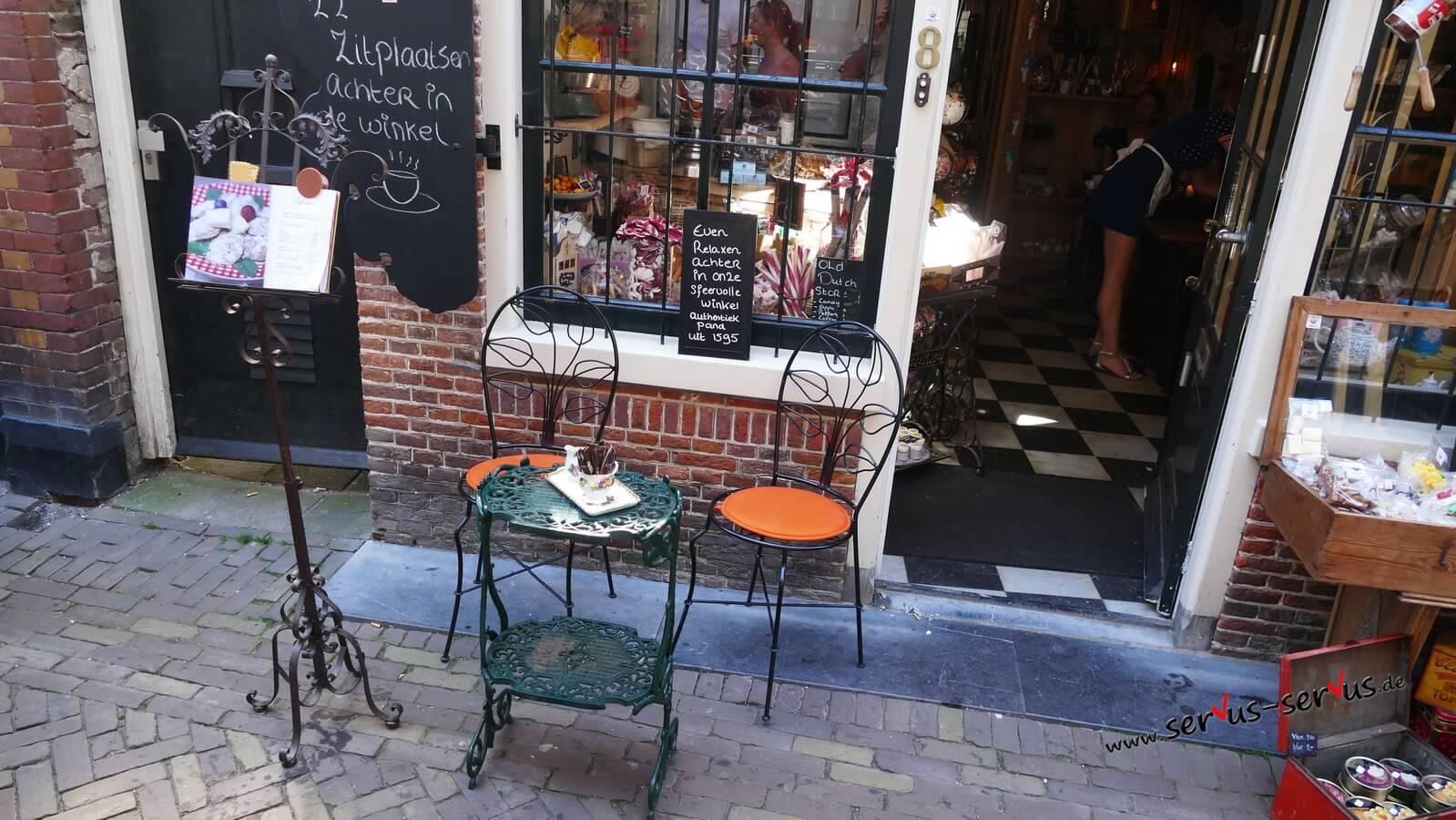 Alkmaar, Bistrotisch, Holland