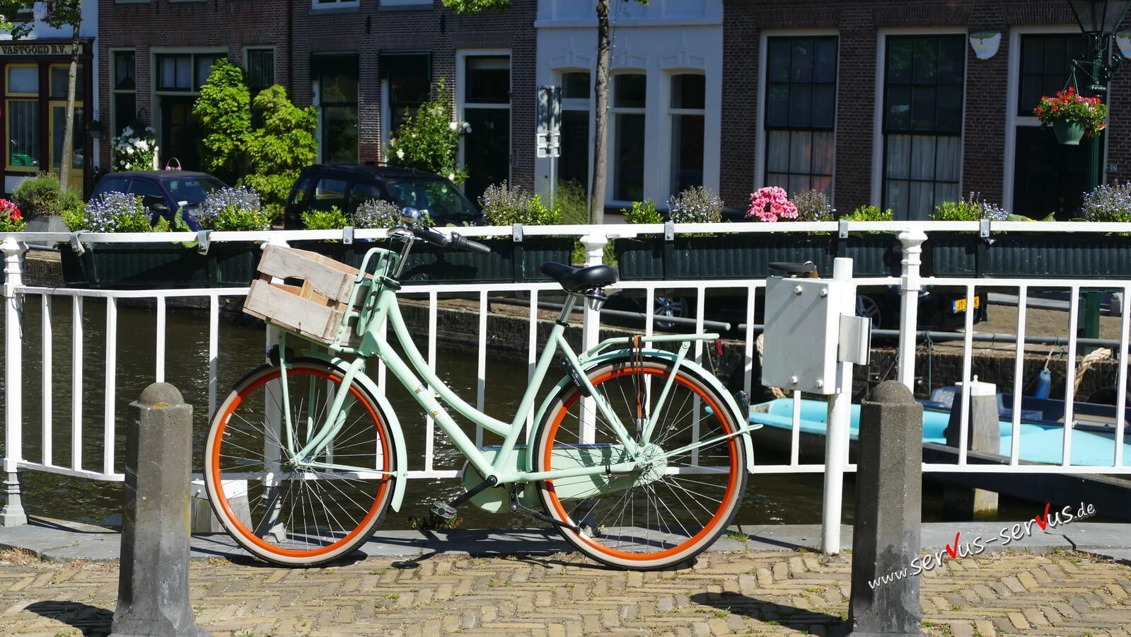 Fahrrad, Alkmaar, Holland,