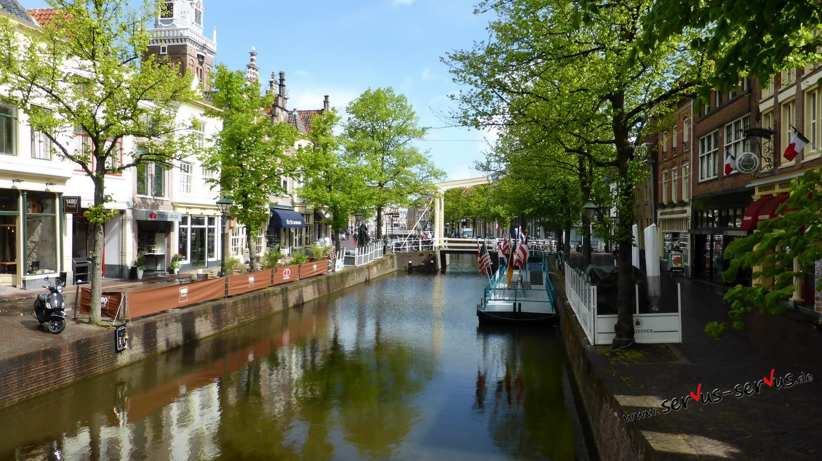 Gracht, Holland, Alkmaar