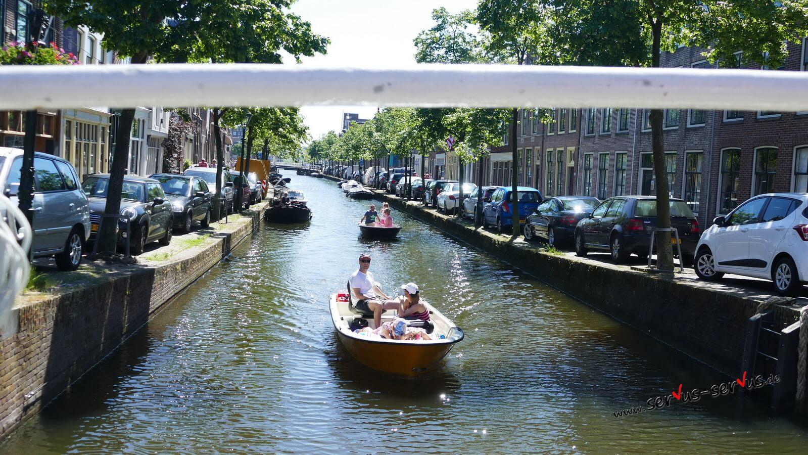 Grachtenfahrt, Alkmaar, Holland