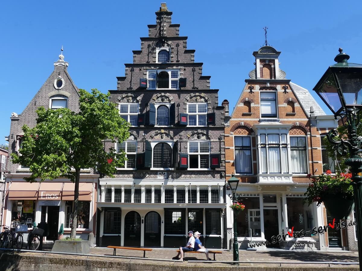 Gebäude, Haus, Alkmaar, Holland