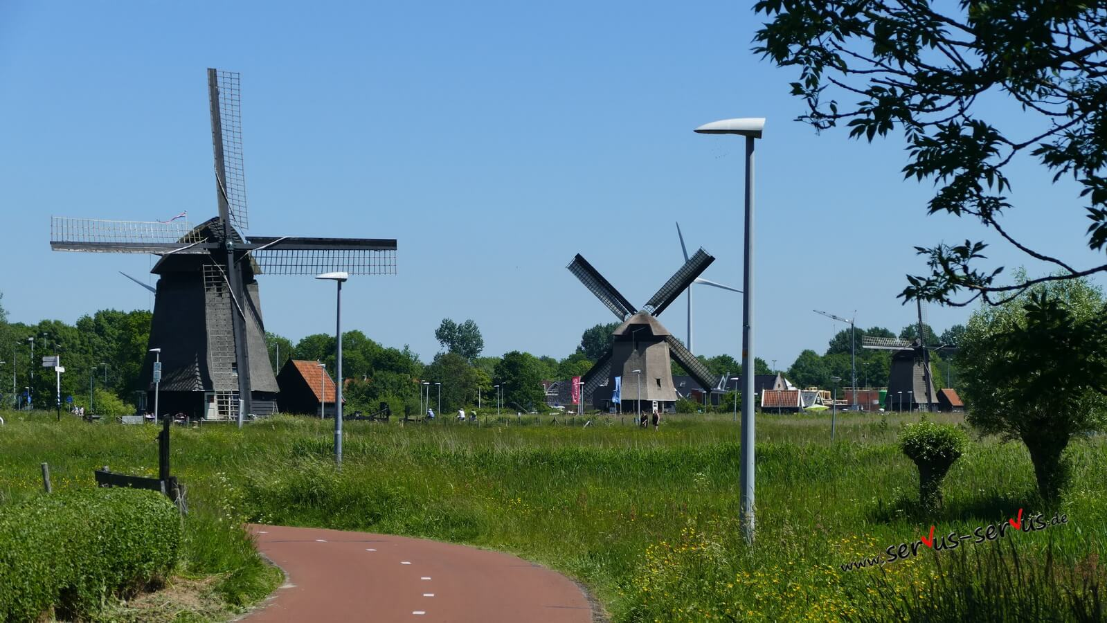 Alkmaar, Holland, Windmühle