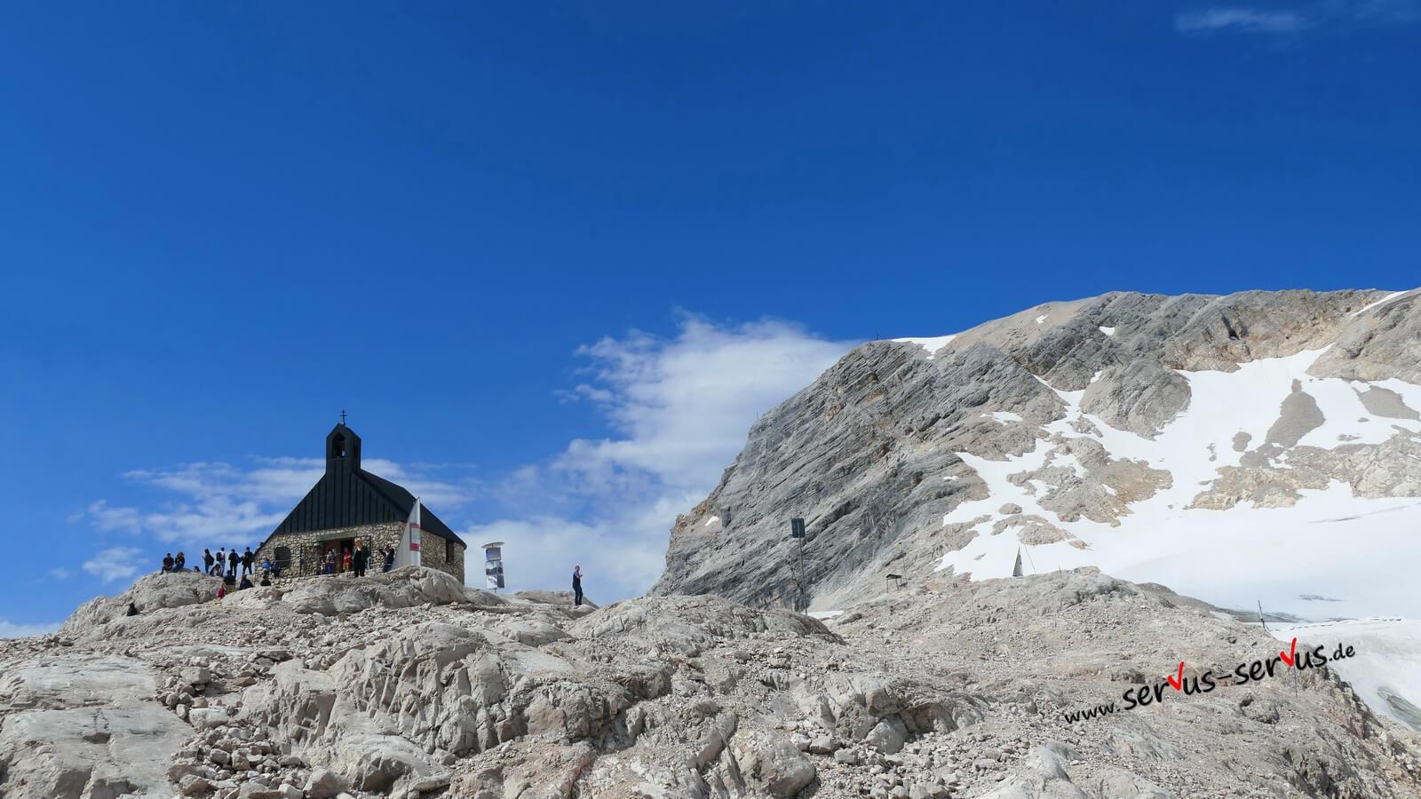 Kapelle, Zugspitze