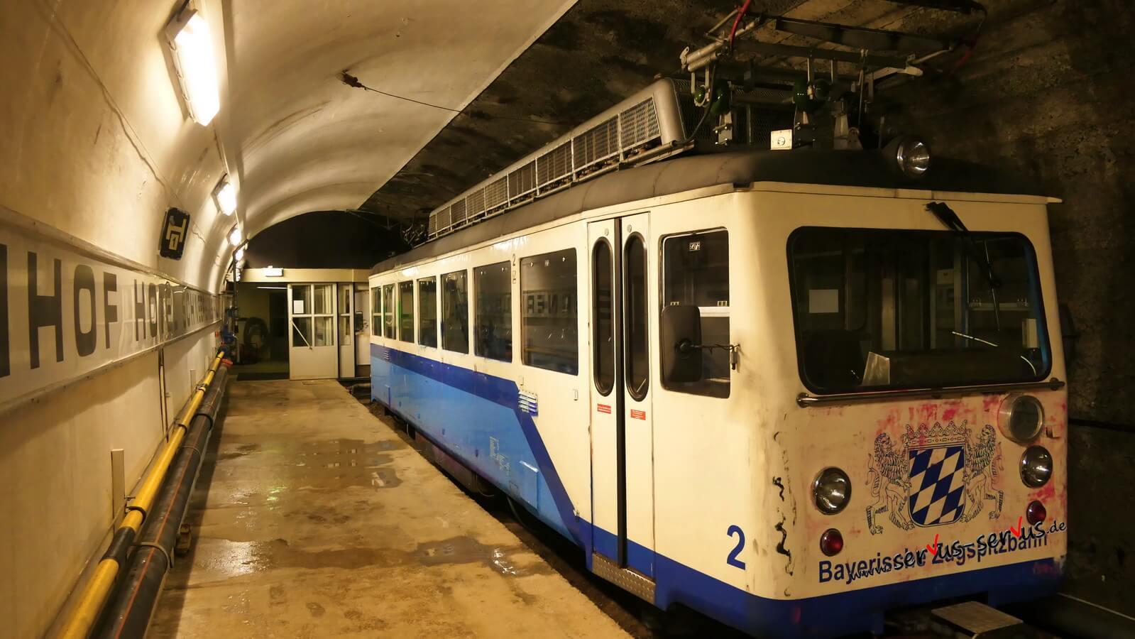 Zahnradbahn, Zugspitze