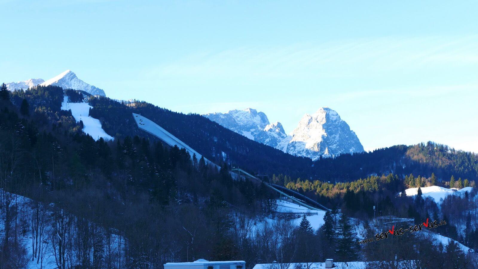 zugspitze skischanze garmisch