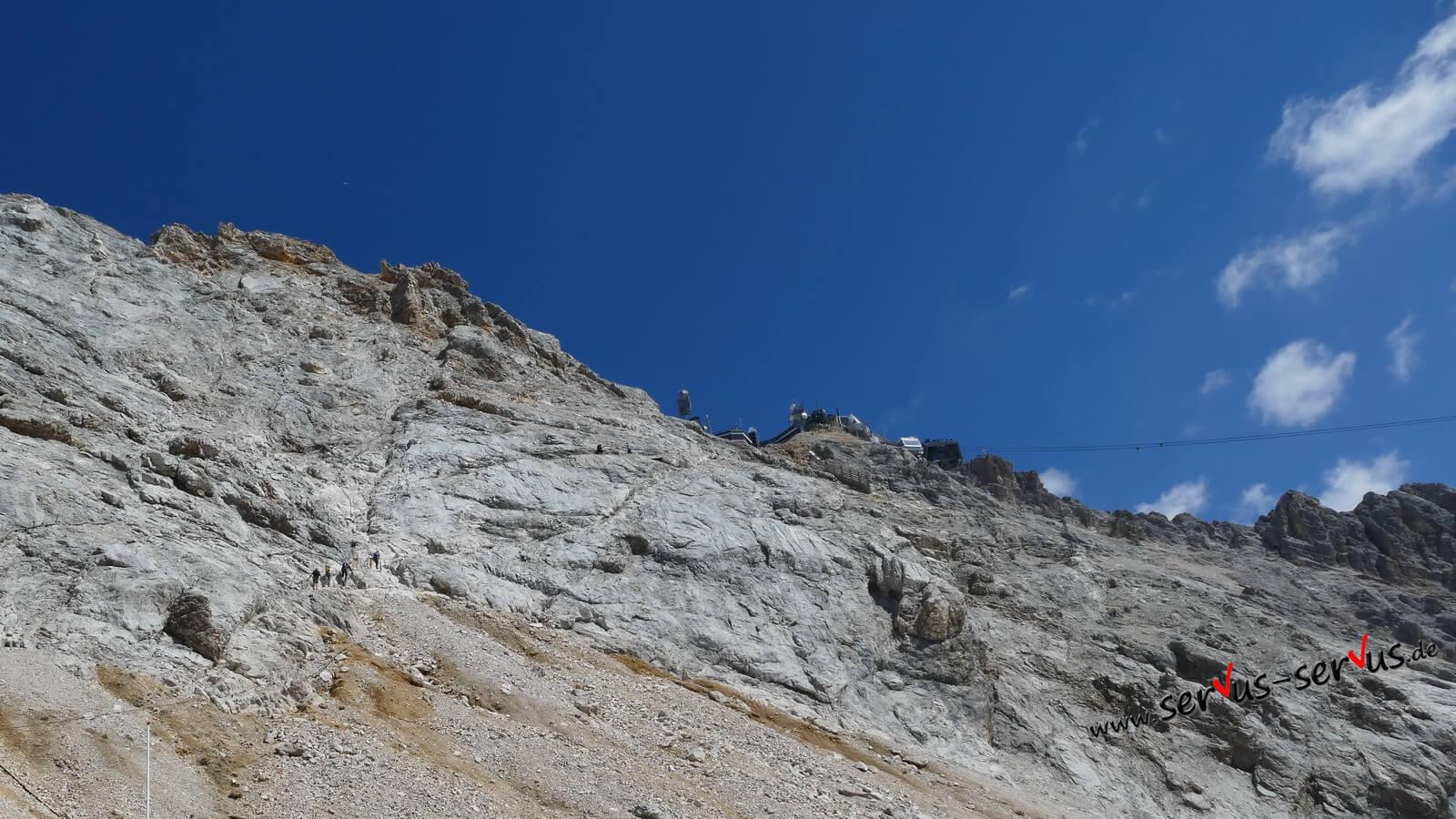 Fußmarsch, Wanderweg, Zugspitze