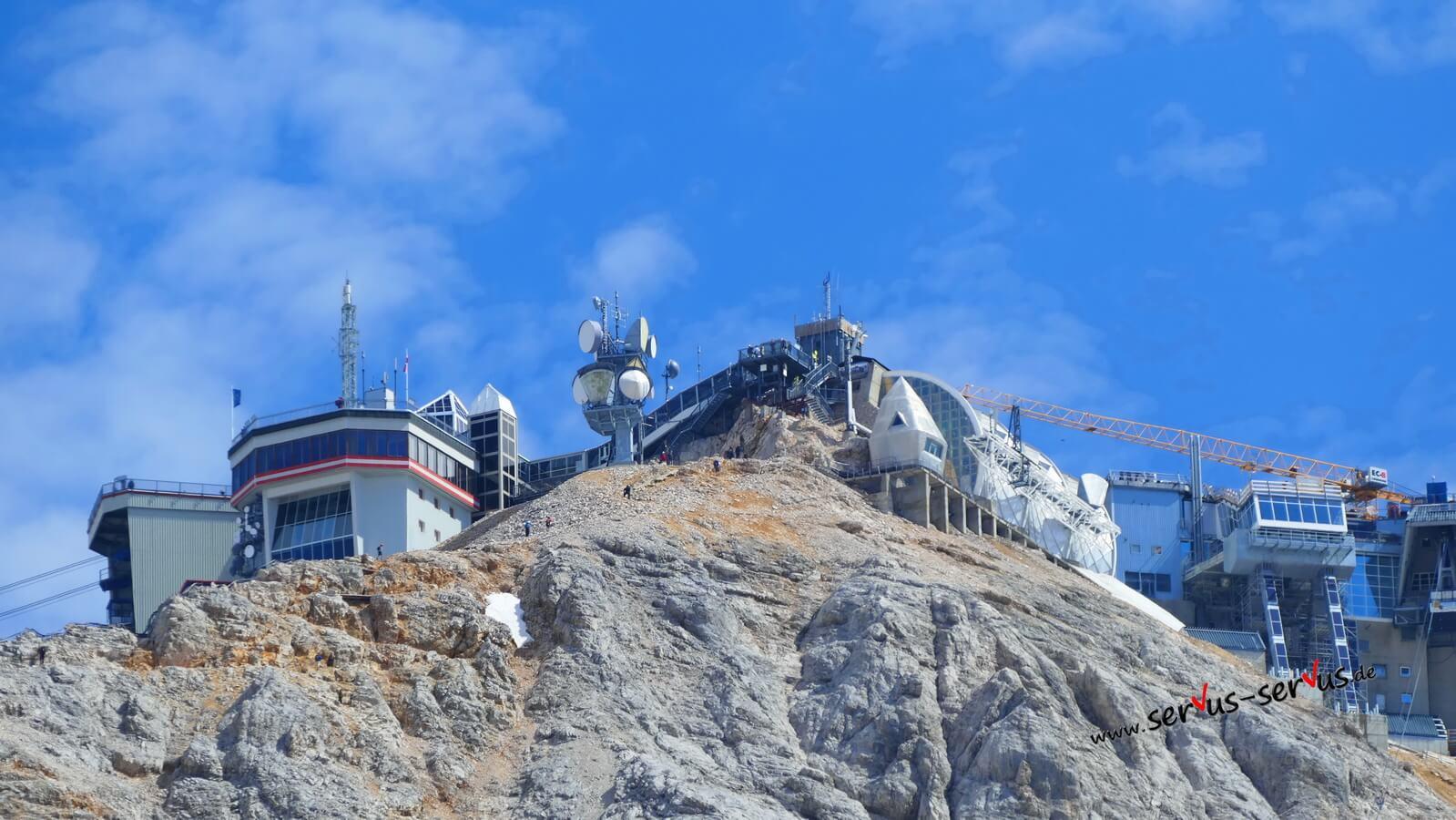 Zugspitze, Bergstation