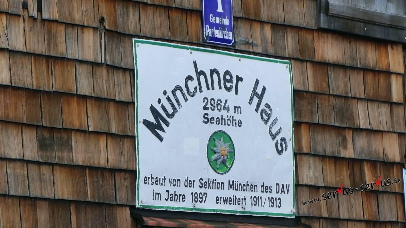 Münchner Haus, zugspitze