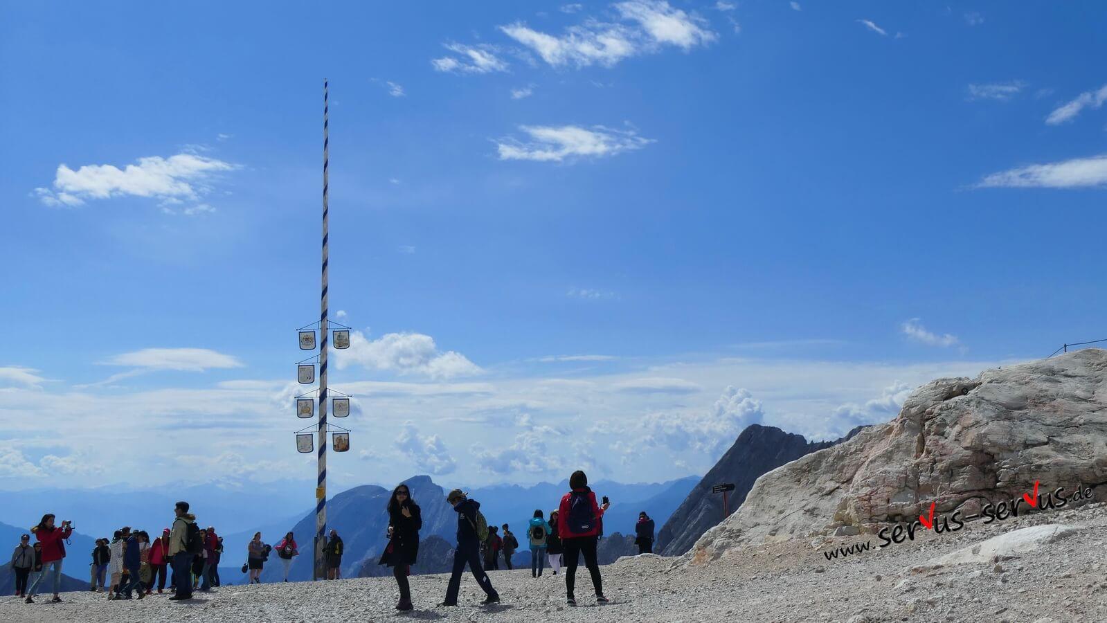 Maibaum, Zugspitze