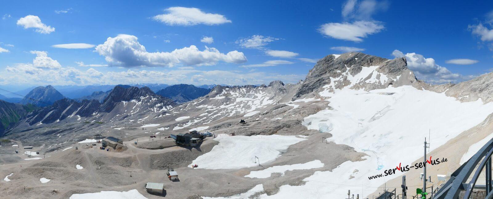 Zugspite Gletscher