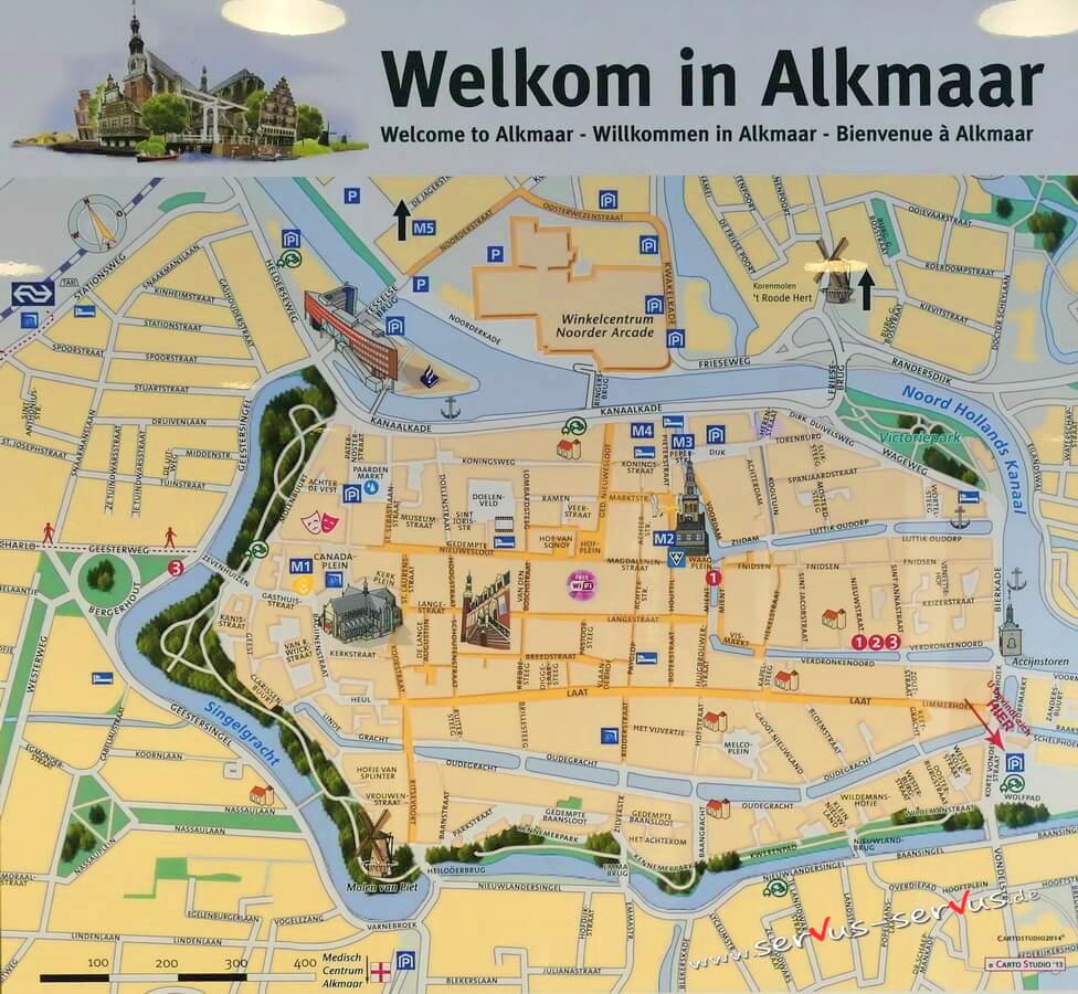 Alkmaar Stadtplan