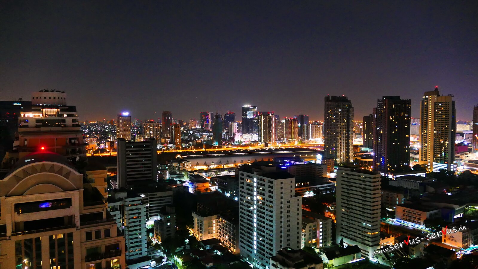 Aussicht vom 37 Stock in Bangkok