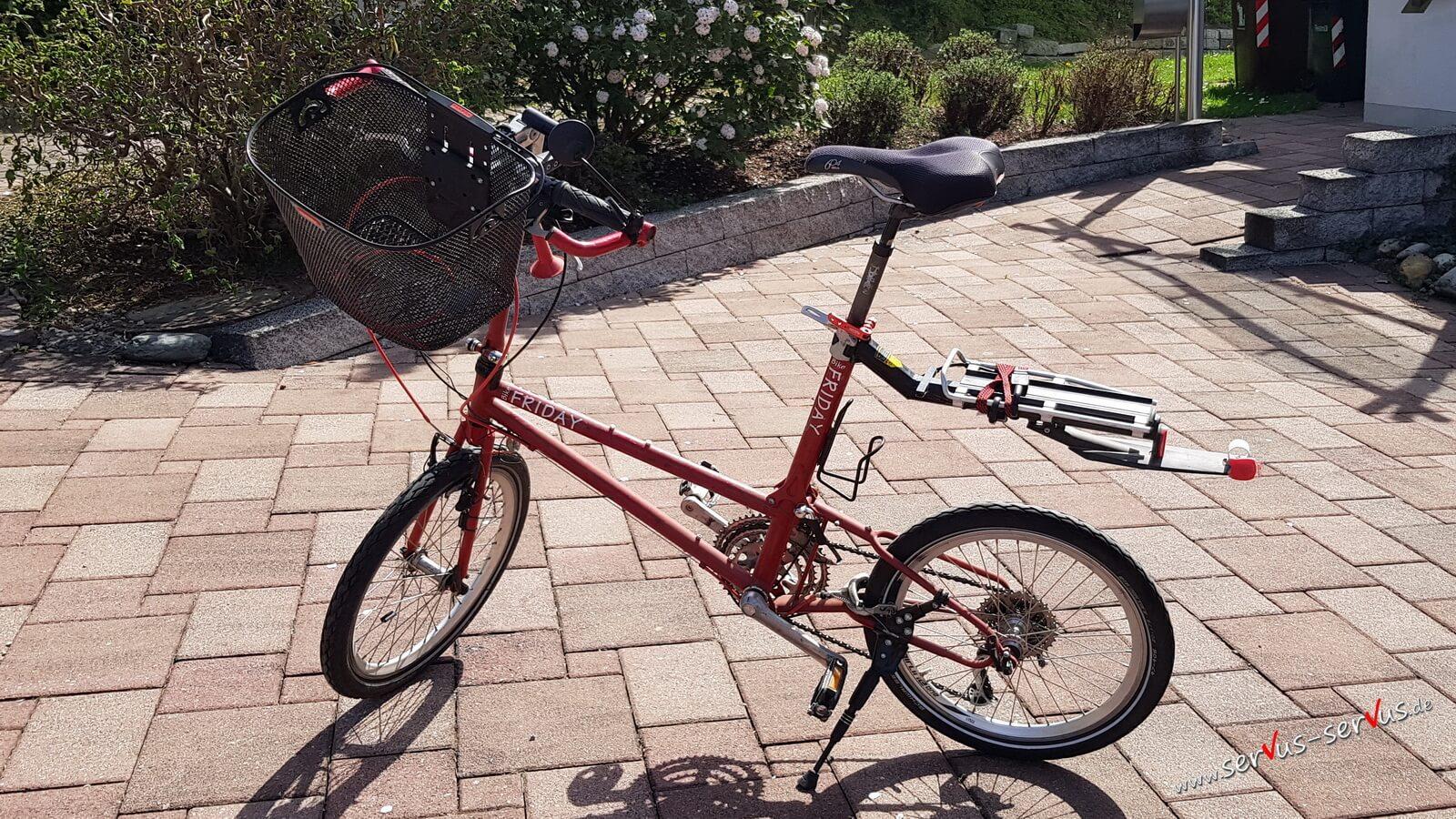 Mein Bike Friday im Freizeitlook