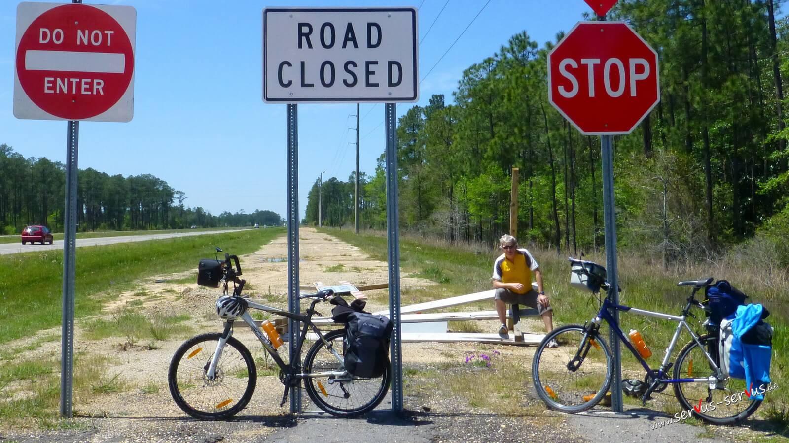 Mit dem Crossbike nach Miami
